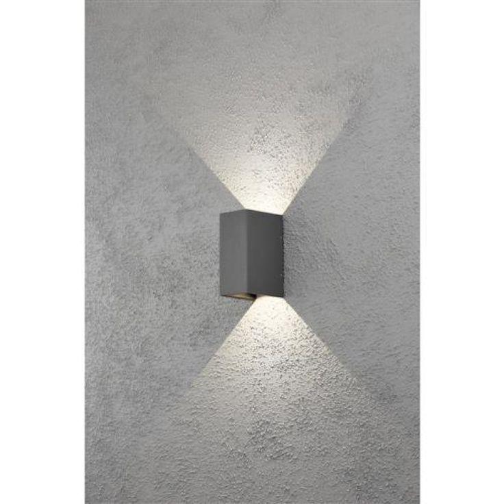 konstsmide cremona a 7940 370 high power led wandleuch up downlights f r den au enbereich. Black Bedroom Furniture Sets. Home Design Ideas