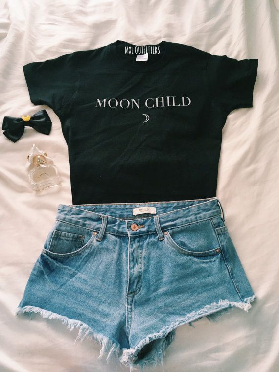 Moon Child T-Shirt by MXLoutfitters on Etsy