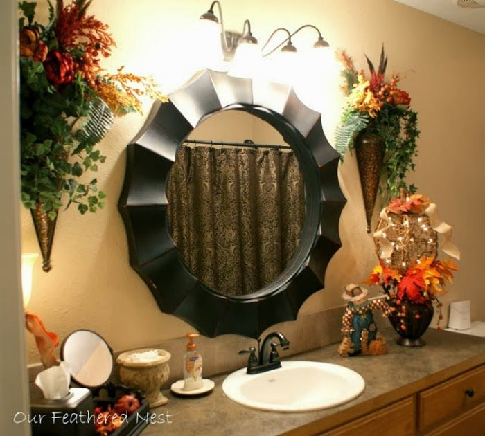 Bathroom Inspiration Fall Decorating Ideas From Bathroom Bliss By