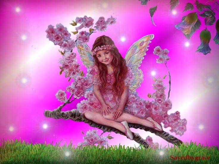 Cute Fairy - fairies Wallpaper