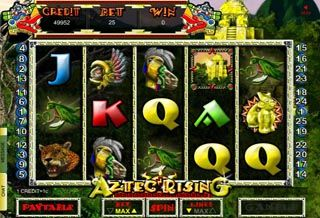 Sbobet Casino Aztec Rissing