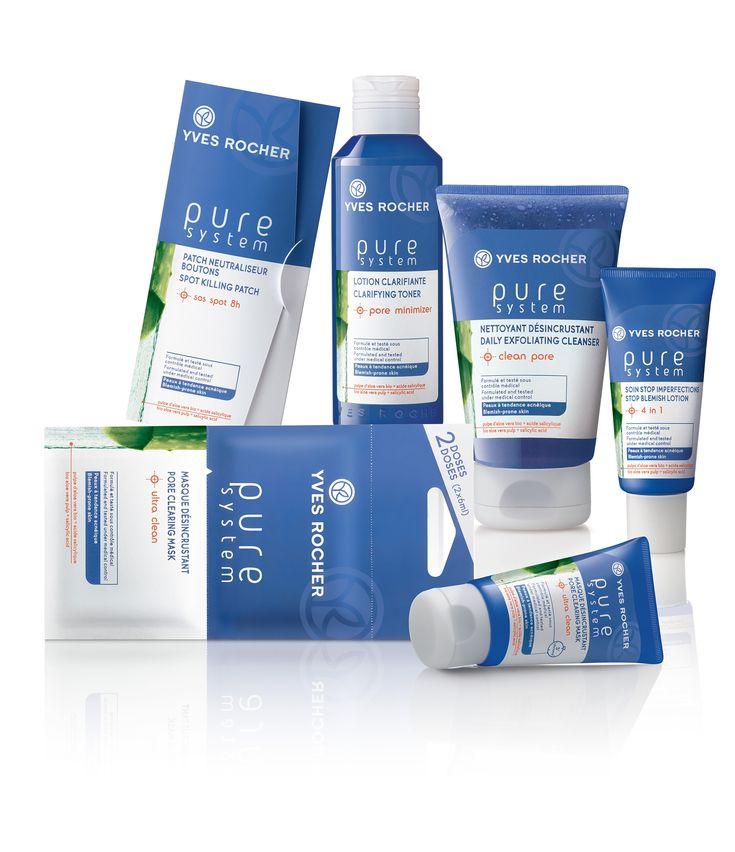 Línea anti acné Pure System de Yves Rocher