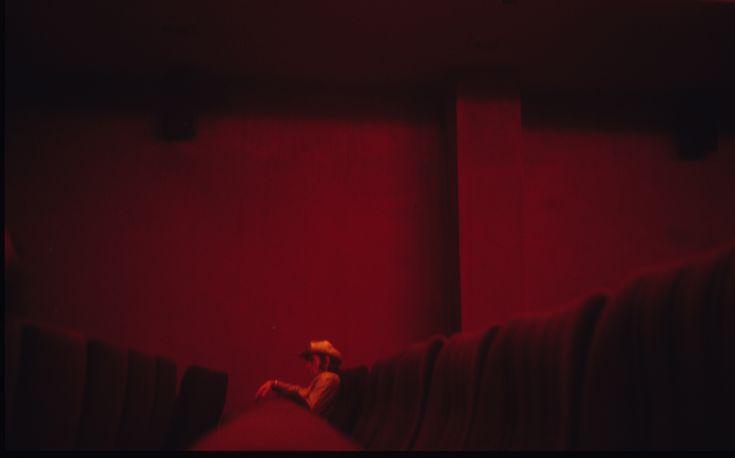 Dolores Marat, Cowboy at the cinema.
