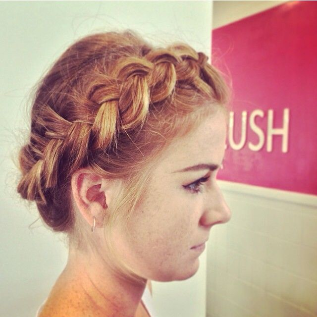 """""""We DID say we loved braids at blushbar HQ! Feast your eyes on some more! #braid #braids #braidstyles #hairoftheday #hair #hairstyle #redhair #bridalhairideas #love #style #hairbygez"""" Photo taken by @blush_bar on Instagram, pinned via the InstaPin iOS App! http://www.instapinapp.com (07/04/2015)"""