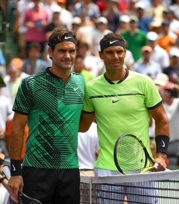 Roger Federer ATP World Tour Masters 1000 Miami 2017 #Federer #Nadal #FeDal #Rafa #tennis