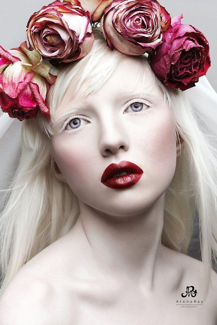 Albino girl cum dildo diana