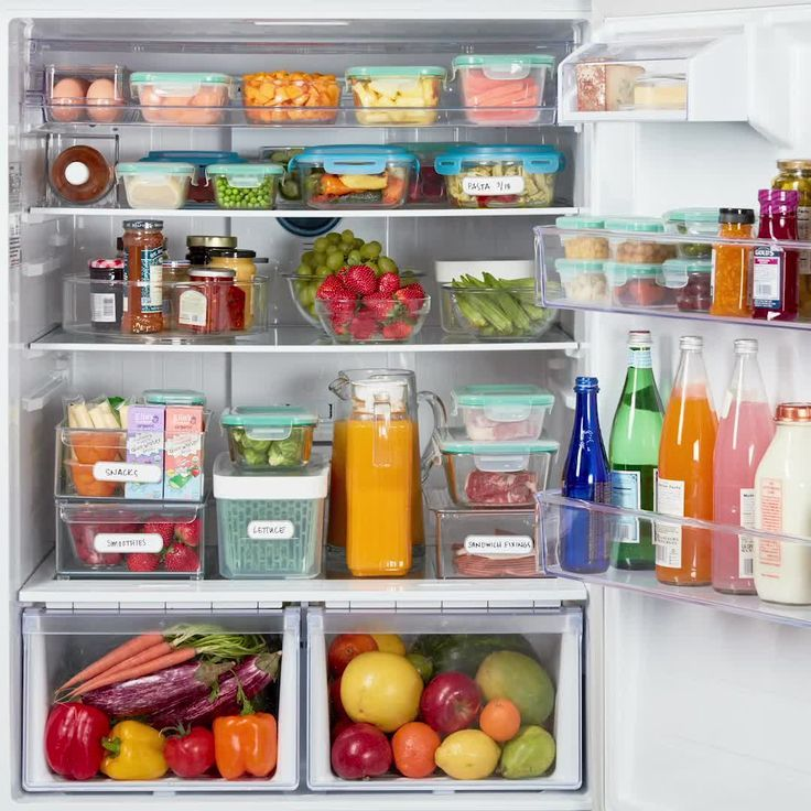 Refrigerator Freezer Plastic Drawer Type Expand Space Box Bin Tray Blue Walmart Com Kitchen Hacks Diy Kitchen Organization Kitchen Hack Inspiration