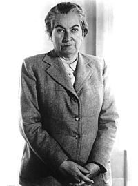 Gabriela Mistral (7 April 1889 – 10 January 1957) was the pseudonym of Lucila Godoy Alcayaga, a Chilean poet-diplomat, educator and feminist. She was the first Latin American (and, so far, the only Latin American woman) to be awarded the Nobel Prize in Literature (1945).