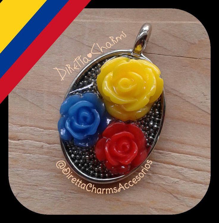 La tricolor!!! No nos podia faltar algo alucibo a nuestra patria querida, a nuestra Colombia!!! Dije Tricolor en flores de resina y balines de acero.  Info + 57 3127080891 - 3135568358 #DirettaAccesorios #DirettaCharmsAccesorios #artist #artesana #followme #foryou #cool #love #beautifulday #colors #bisuteria #accesorios #colombia #tricolor #bisuteriabonita #bisuteriafina #bisuteriahechaamano  #bisuteriacolombia