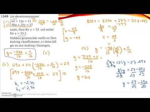 Matematik 5000 Ma 2c   Kapitel 1   Några speciella ekvationssystem   134...