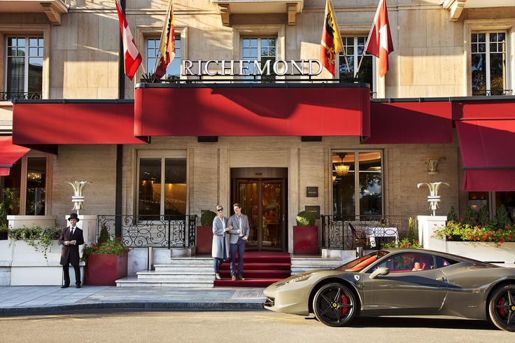 Le Richemond welcoming the motor show guests