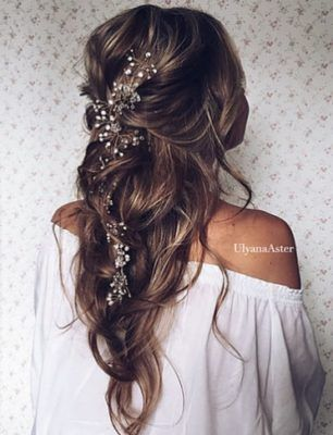 Wedding Hairstyle Inspiration – Ulyana Aster