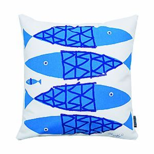 New FISH pillows from Tröskö Design!
