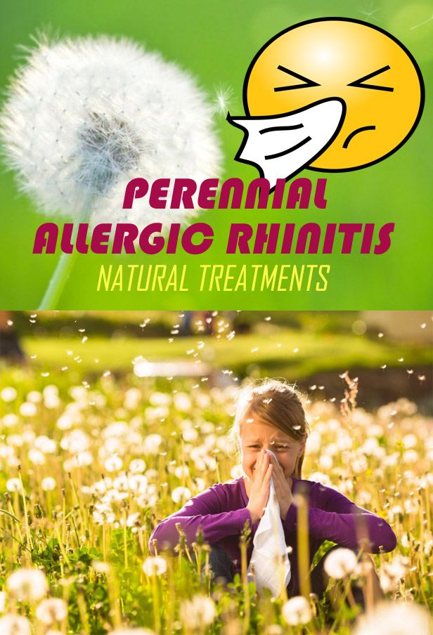 Seasonal and Perennial Allergic Rhinitis: Symptoms & Natural Treatments