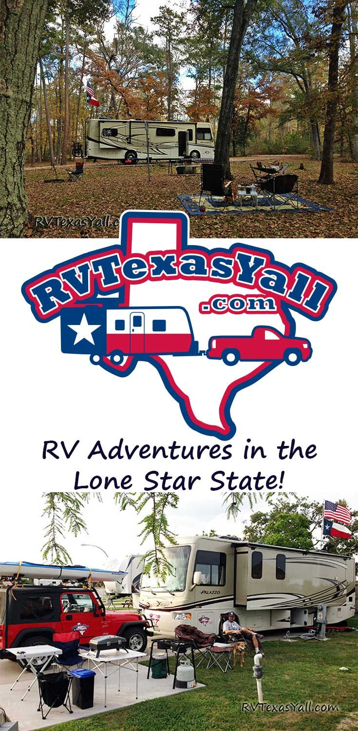 RV Adventures in the Lone Star State! Tom and Stacie Langland are Native Texans who love exploring the Great State of Texas and beyond in their RV. Visit RVTexasYall.com for Texas campgrounds, RV parks, RV shows, RV dealers, fun things to do in Texas and more!