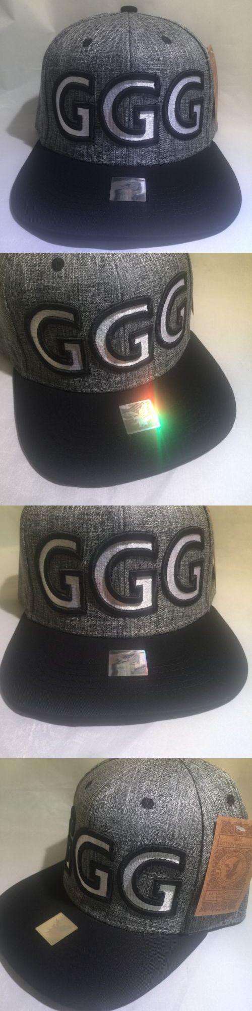 Headbands and Hats 179769: Ggg God Of War Canelo Alvarez Gennady Golovkin Boxing Hat Boxer Snapback Custom1 -> BUY IT NOW ONLY: $34.99 on eBay!