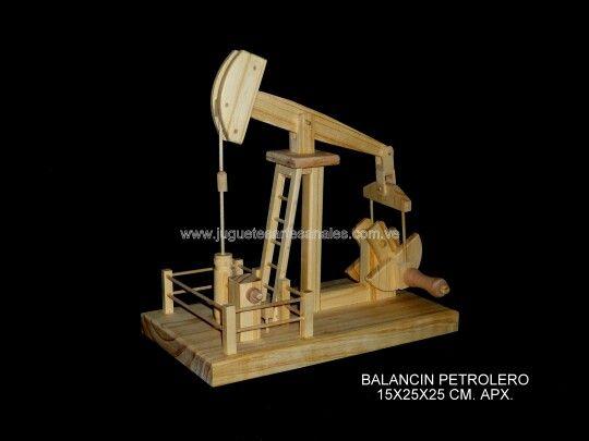 Balancin Petrolero Movimiento Al Girar Manivela