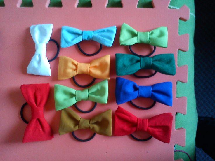 Colets de ribbon de colores! <3  .- Yami.