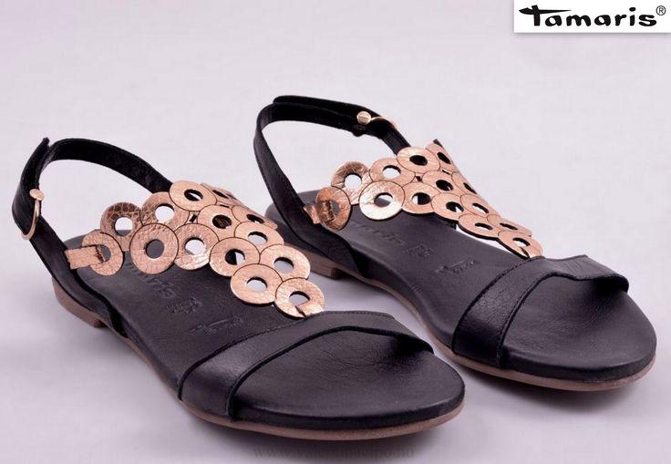 Tamaris divatos nyári szandál üzletünkben és webáruházunkban   http://valentinacipo.hu/tamaris/noi/fekete/szandal/140305140  #Tamaris #női_szandál #Tamaris_webshop #Valentina_cipőboltok