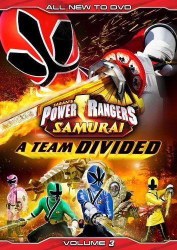 Power Rangers Samurai, Vol. 3: A Team Divided [DVD]