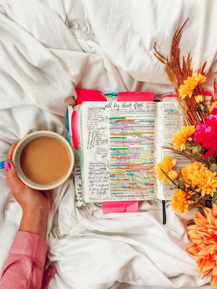 Bible Study and coffee | how to Study the Bible | Bible Journaling for Beginners