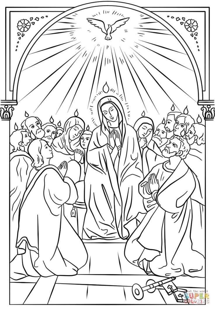 12 best Catholic Coloring Pges images on Pinterest