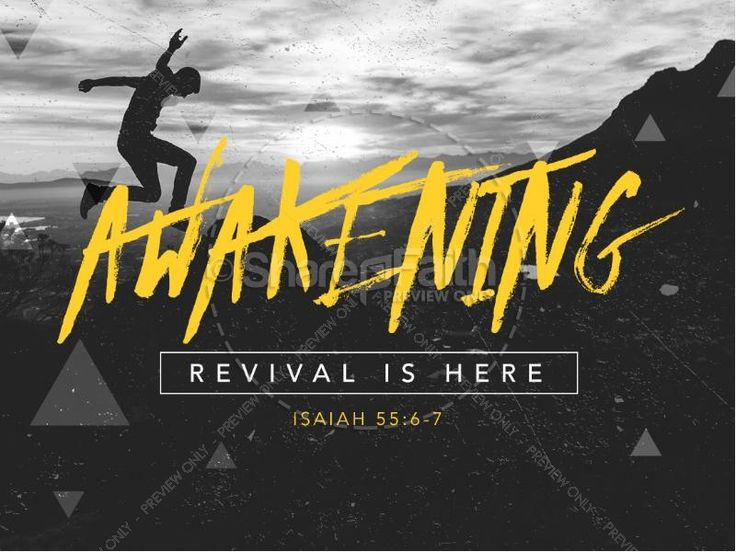 Use this PowerPoint to spark revival in your church and ignite an awakening within the body of Christ. #Sharefaith #ChurchMedia #Sermons