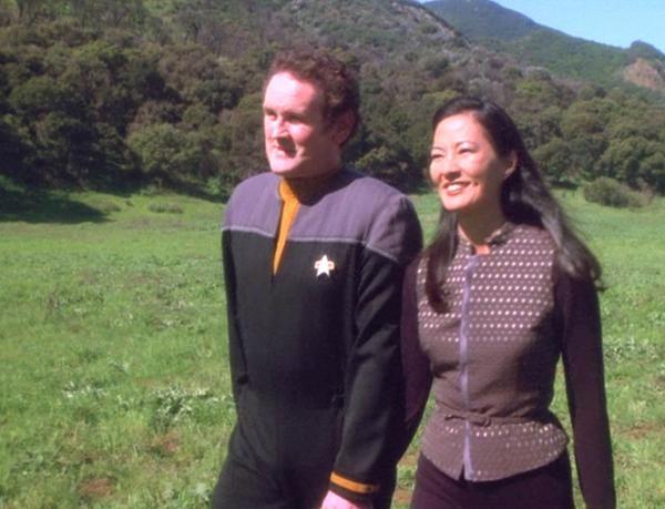 Keiko and O'Brien! (Star Trek: The Next Generation)