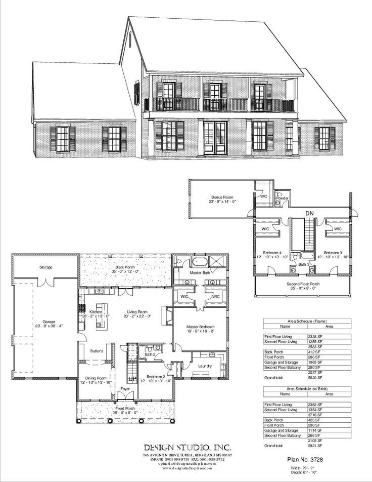 961 best Plans Maisons images on Pinterest Floor plans, Haciendas