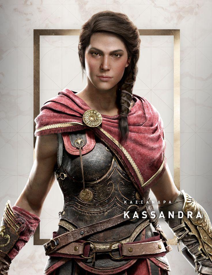 Assassin's Creed Odyssey – Charakterbilder Kassandra | AssassinsCreed.de – Offizielle DE Fanseite mit News & Forum – Anna Tomie