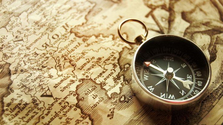 HD Images CollPection: Compass, by Wallace Lapp