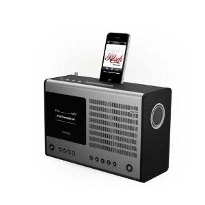 REVO Heritage ブラック ラジオ iPhone iPod スピーカー