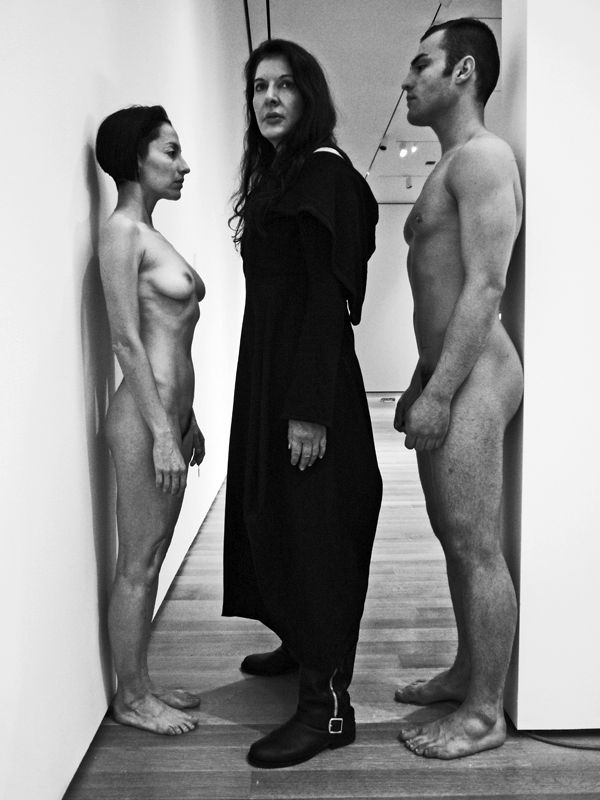 performance art by Marina Abramovic