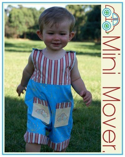 """Mini Mover"" designed by Melanie Hurlston for Sew Little."