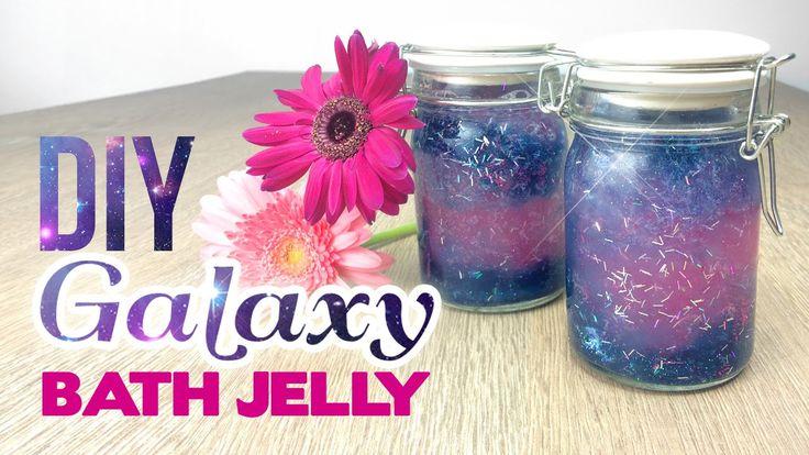 Glittery GALAXY Bath Jelly! Lush & Tumblr Inspired DIY