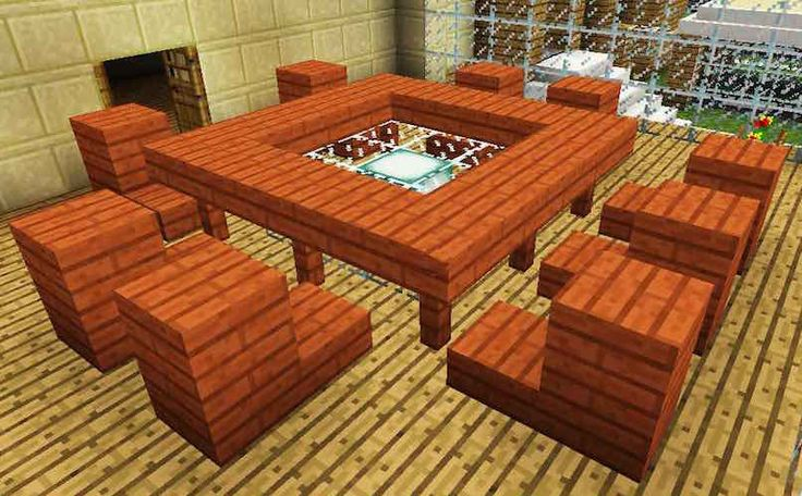 Beautiful Minecraft Table
