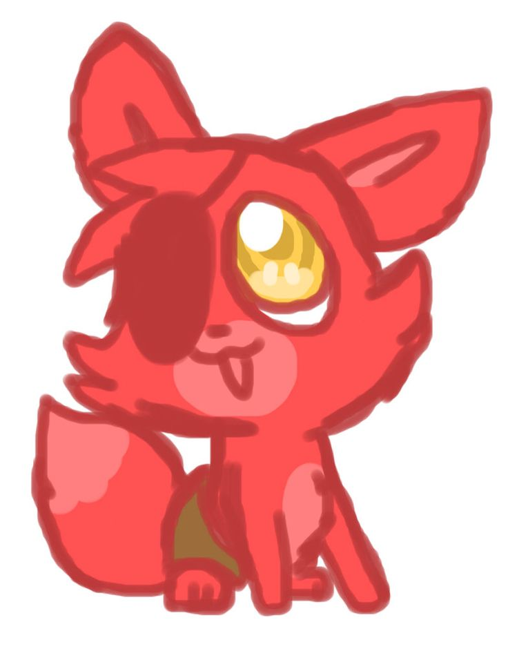Five nights at freddy s cute foxy more nights ar fnaf foxy baby fnaf