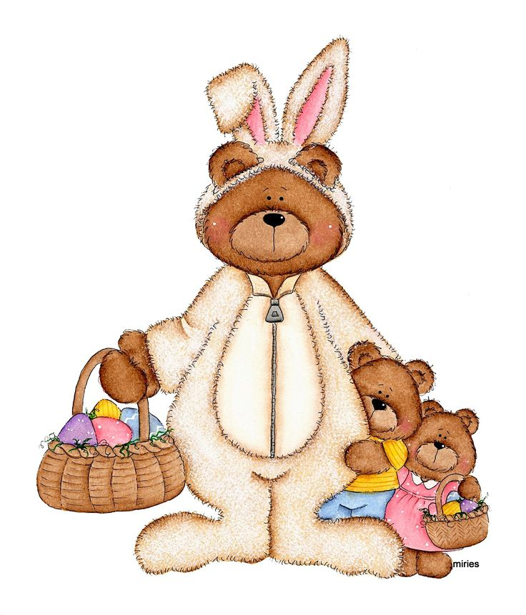 осуществить правильный рисунки медвежонок с зайчиком едят надо