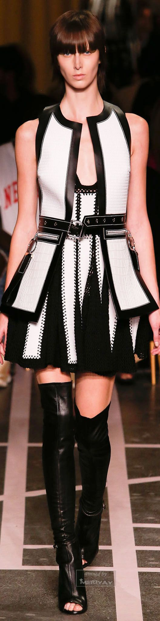 Givenchy.Spring 2015...I LOVE his collection this year!!