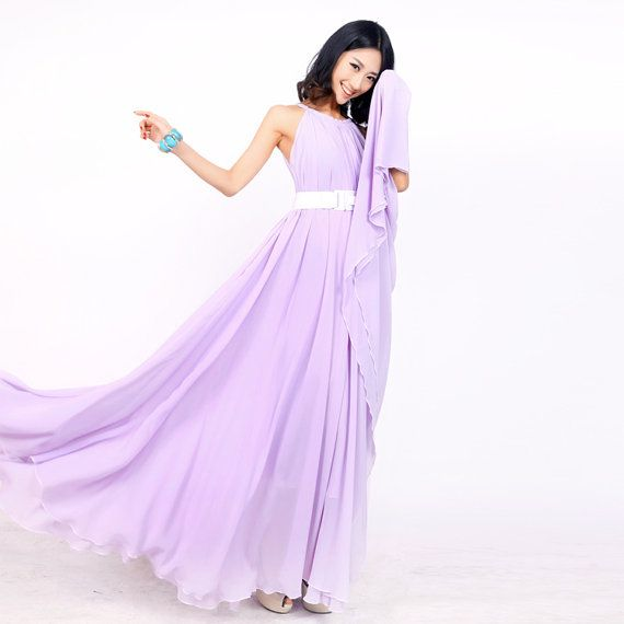 Lavender wedding party dress boho holiday beach maternity for Maxi maternity dresses for weddings