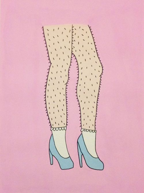 Illustration (uncertain about title and original creator, found via Riot Grrrl)