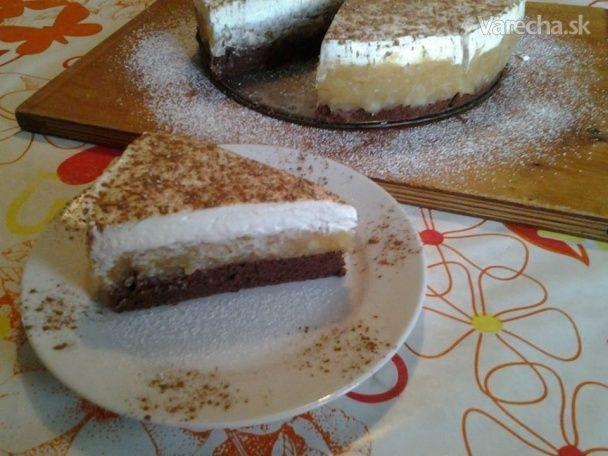 Jablková torta s mascarpone krémom