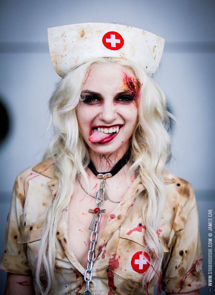 Japan Expo 2015 : Cosplay Zombie Nurse by Clara Doxal  Epic Zombie Cosplay ! Btw, Happy Birthday Clara !    Japan Expo 2015, Paris (France) www.studiosushi.com © James Cao