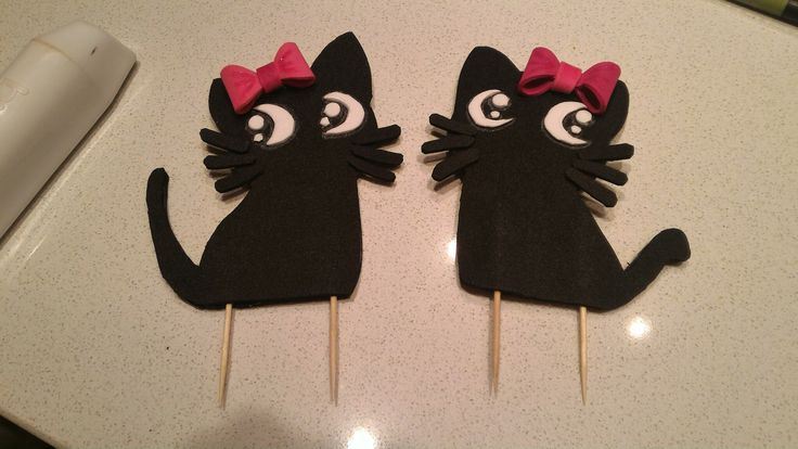 Cake topper Cats