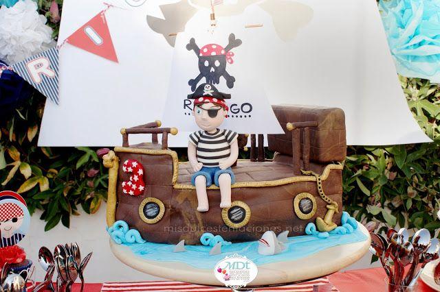 el cumple de mi pequeño pirata