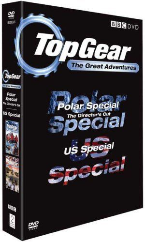 From 0.45 Top Gear - The Great Adventures (polar Special & Us Special) [dvd]