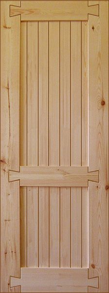 """Дверное полотно """"Прованс №4"""" В200хШ70 см"""