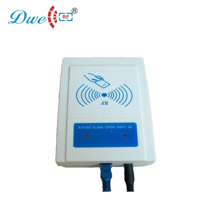 DWE CC RF access control card reader rj45 proximity card reader tcp/ip network filter reader