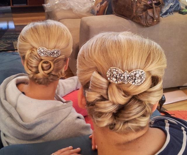 Hair and Makeup by beautybycorinne, via Flickr  www.beautybycorinne.com.au  #weddings  #hair