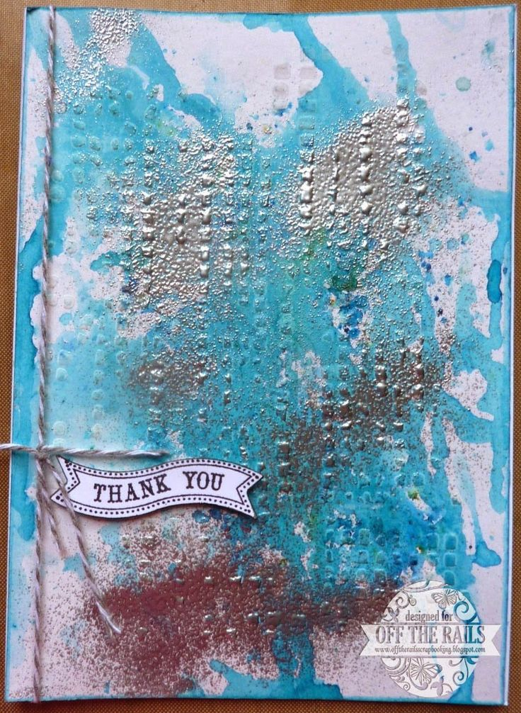 Magicals, Embossing Powder and Your Imagination